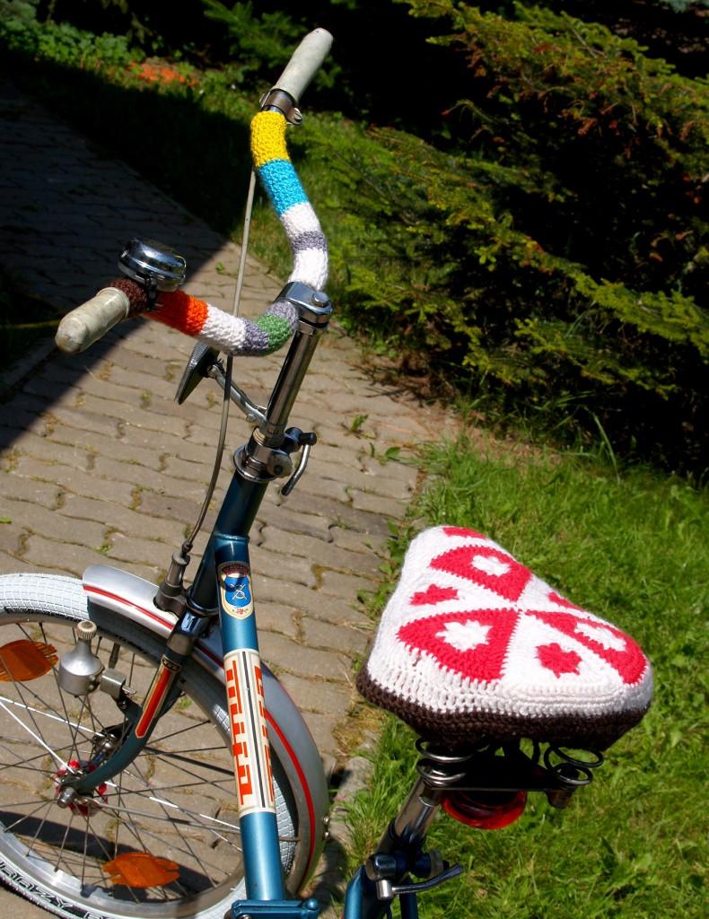 Fahrrad umhäkeln