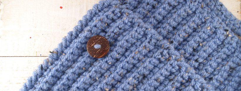 Kuscheligen Schal-Kragen häkeln - mimameidana